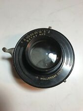 Bausch And Lomb 5x7 Planatograph F-8 E.f. 8 1/2 Lens On Wollensak Betax No 2