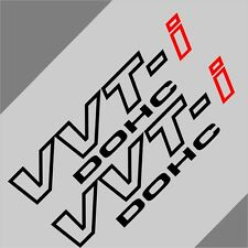 Car VVT-I DOHC VVTI  11''  Vinyl Truck  sticker Side Decals  2PCS #CF716