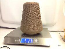 100% Wool Yarn On Cone - Aust. Wool Superfine Merino - Suede