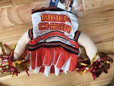 NWT Dog CHEERLEADER Costume Sz Large DOG HALLOWEEN