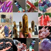 Wholesale Natural Quartz Crystal Stone Chip Minerals Rock Healing Craft Decor TR
