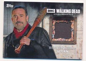 Topps Walking Dead Season 6 Jeffrey Dean Morgan Negan Wardrobe Worn Pants (F)