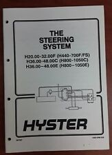 Hyster The steering System Manual 1600 SRM 429, 897367