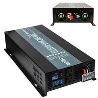 24V DC to 120V AC 3500W Full Power Off Grid Pure Sine Wave Home Power Inverter