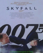 SKYFALL MOVIE POSTER Original SS 27x40 Video Store One Sheet  007 DANIEL CRAIG