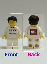 LEGO Employee Minifigure - From 4000010 Lego House - LEGO logo at back - Rare
