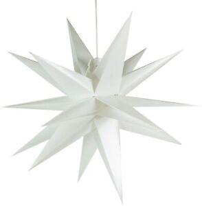 LED Adventsstern 55cm Gartenstern außen Weihnachtsstern incl. Kabel & LED
