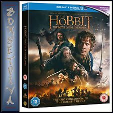 THE HOBBIT: THE BATTLE OF THE FIVE ARMIES *BLU-RAY REGION FREE*