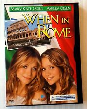 Mary-Kate & Ashley Olsen - When In Rome ~ Rare OOP DVD Movie
