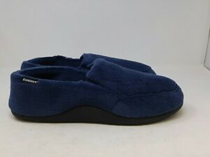 Isotoner Mens Navy Shoes Size 11-12 US