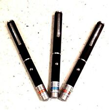 Powerful 1MW Green, Red or Purple / Blue Laser Pointer Pen *UK SELLER UK STOCK*