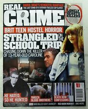 REAL CRIME Issue No 21 STRANGLED On SCHOOL TRIP 13 Yr Old CAROLINE Robert Hanson