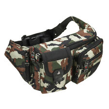 1680D Waterproof Men Women Outdoor Waist Shoulder Bag Travel Pack Sport Style