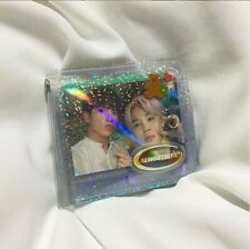 [ALMOSTBLUE] TWINKLE Jelly Transparent Wallet with necklace HOLOGRAM