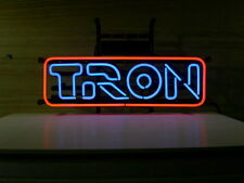 """New Tron Arcade Video Game Room Neon Sign 24""""x12"""" Ship From USA"""