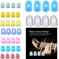 4pcs Silicone Guitar Thumb Finger Picks Protector Fingertip Thumb Caps Banjo