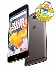 "Oneplus 3T One Plus ThreeT Dual Sim 4G 5.5"" 6GB RAM 64GB 16MP Smartphone GRADE A"