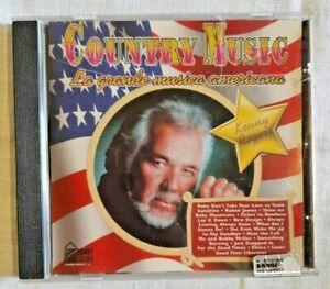 COUNTRY MUSIC LA GRANDE MUSICA AMERICANA Kenny Rogers Musica CD