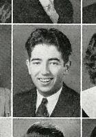 IRVING WALLACE High School Yearbook SENIOR Year with Scottie Terrier Cover
