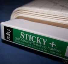 """SULKY STICKY EMBROIDERY STABILIZER! 22.5""""x25YDS BOLT"""