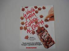 advertising Pubblicità 1982 PERUGINA ROCHERS