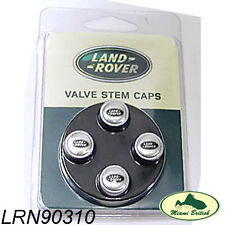 LAND ROVER RANGE ROVER SPORT LR2 LR3 LR4 VALVE STEM CAP SET LR027560 NEW