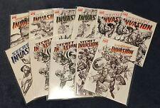 Secret Invasion #1-8 (sketch variants) - Marvel Comics
