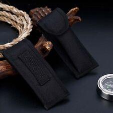 Black Nylon Pouch Sheath Bag For Folding Knife Tool Back Belt Clip Case