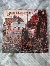 Black Sabath debut Warner Bros. Label Classic Heavy Metal Rock LP Record Ozzy