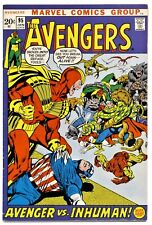 1)AVENGERS #95(1/72)ORIGIN BLACK BOLT(KREE/SKRULL WAR)CGC WORTHY(F/VF)INHUMANS!!