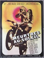 Affiche MEURTRES AU SOLEIL Summertime Killer MOTO Karl Malden 40x60cm *