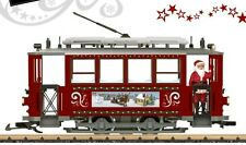 LGB 72351 Christmas Street Car Set - NEW!