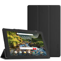 Smart Wake/Sleep Case Cover Shell For Verizon Ellipsis 10HD 2017(QTAXIA1) Tablet
