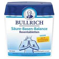 BULLRICH - Acid alkaline balance - 180 tablets - German Product