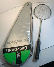Browning Platinum Nano CTi 70 Carbon Badminton Racket in Carry Case Never Used