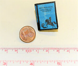 1024# Miniaturbuch - Mythologie - Puppenhaus - Puppenstube - M1zu12