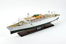 """SS Brasil Ocean Liner Handmade Wooden Ship Model 37.5"""" Scale 1:200"""