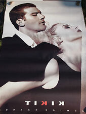 RARE handsome young Antonio Banderas 1990 ad poster 4 ft x 6 ft  Bonnie & Clyde