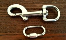 DOG RUN T316 Stainless Steel Swivel bolt SNAP and LINK for your chain