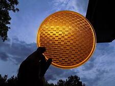 "8"" GE Yellow Glass Traffic Light Lens"