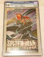 Superior Spider-Man Team-Up Special #1 Campbell Variant CGC 9.8 NM/MT Marvel2013