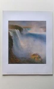 Niagara Falls by Frederic Edwin Church art print 27.9 x 35.5 cm SALE £1