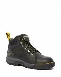 Dr Martens Grapple ST Steel Toe Cap Boots Black Womens