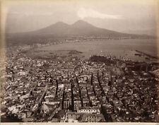 Photo Albuminé Giogio Sommer Napoli Naples Italie Italia Vers 1880