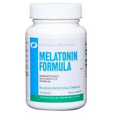 Universal Nutrition MELATONIN Formula 5mg plus Vitamin B6 120 capsules SLEEP AID
