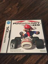 Mario Kart DS Nintendo NDS Cib Game With Manual X1