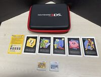 Nintendo 3DS Super Mario Bros 2 & Mario Kart 7 With Case, Stylus And AR Cards