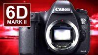 SALE Canon EOS 6D Mark II Digital SLR Camera Body Only Mark 2 Mk2