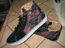 Vans Sk8-Hi Pearl Jam Edition Limited Black Red Plaid 7.5 Box No Lid