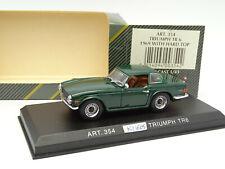Detail Cars 1/43 - Triumph TR6 1969 Verte